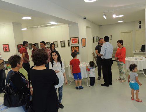 Diyarbakırdaki GSAM Resim Sergi Çalışması