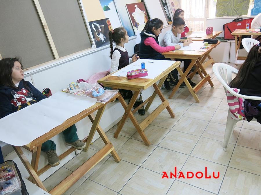 Çocuklar İçin Sanat Eğitim Dersleri Çukurovada