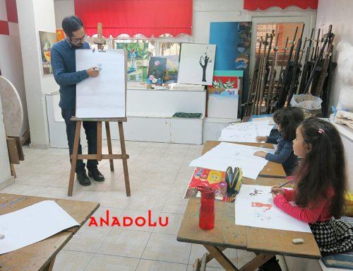 Diyarbakırdaki Hayvan Çizim Çalışmaları