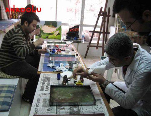 Diyarbakırdaki 2008 ÖSS'yi Kazananların Sergilemeleri