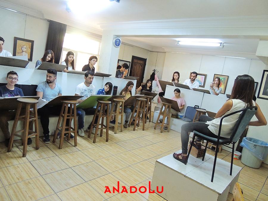Diyarbakırda Güzel Sanatlara Fakülteleri Hazırlık Sınıfları