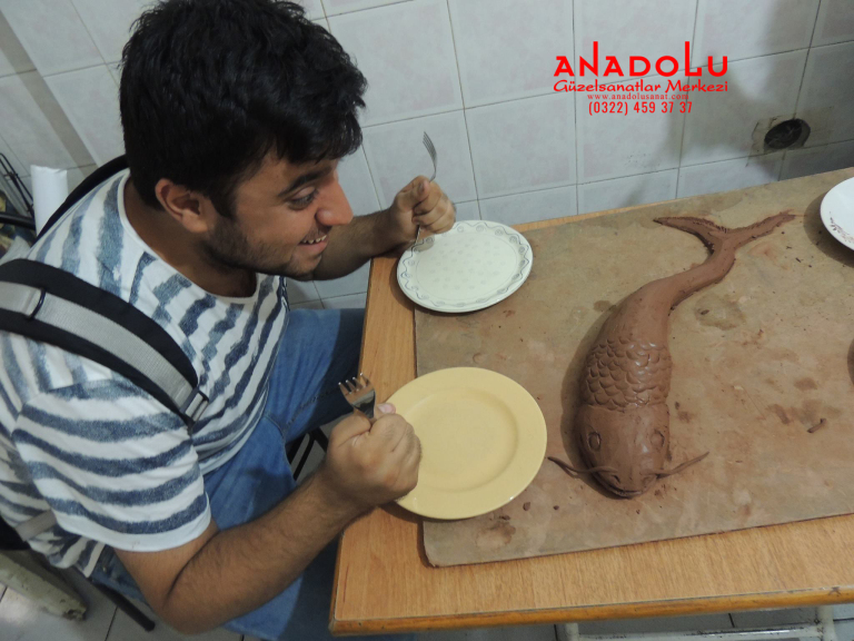 Anadolu Güzel Sanatlar Heykel Kursları Çukurovada