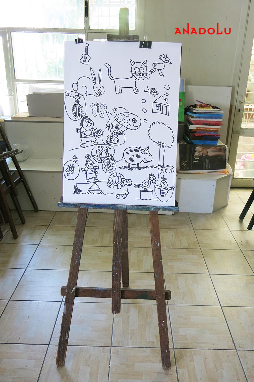 Çocuklar İçin Karikatür Örnekleri Çukurovada