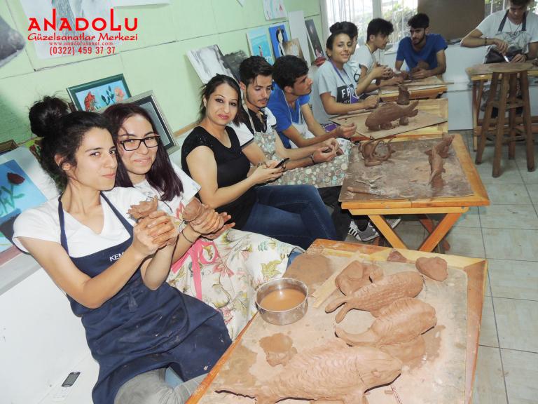 Heykel Dersleri Hobi Grupları Çukurova