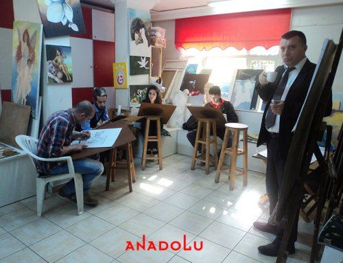 Diyarbakırdaki GSF ' ye Hazırlık Sanat Eğitim Derslerimiz