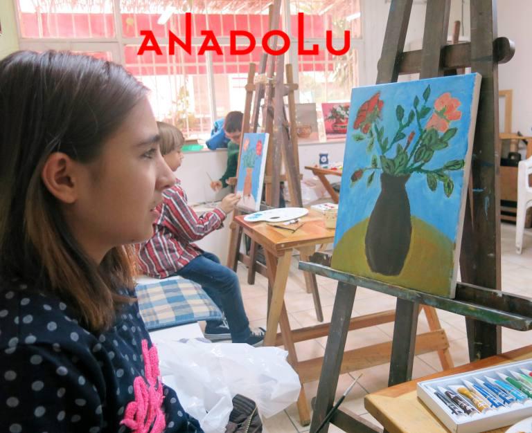 Diyarbakırda Çocuklar İçin Yağlı Boya Kursları