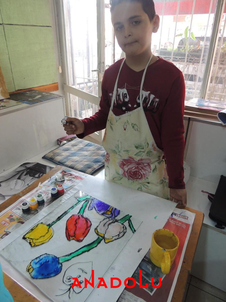 Çocuklara Yönelik Vitray Boyama Tekniği Çukurovada