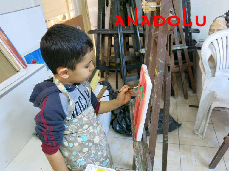 Çocuklara Yönelik Sanat Dersleri Çukurovada