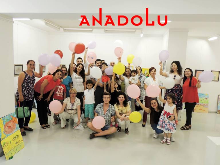 Diyarbakırda Çocuklara Yönelik Resim Sergisi