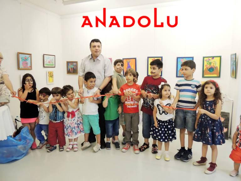 Diyarbakırda Çocuklara Yönelik Resim Sergileri