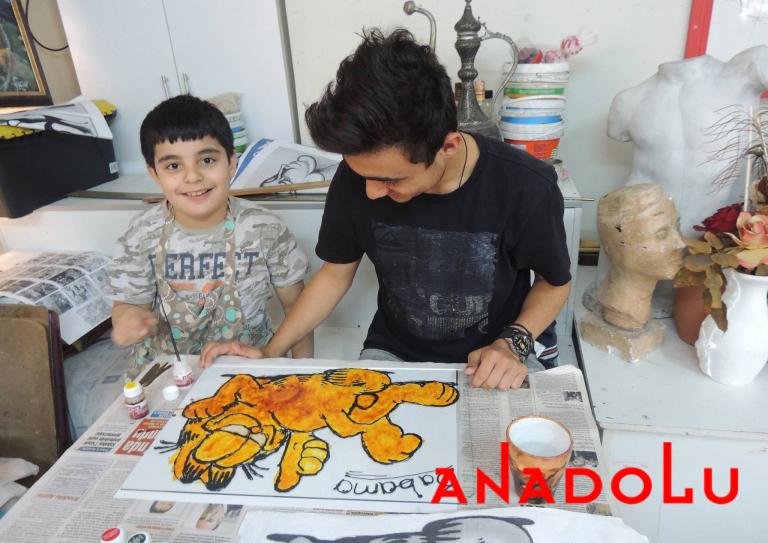 Çocuklar İçin Resim Dersleri Çukurovada