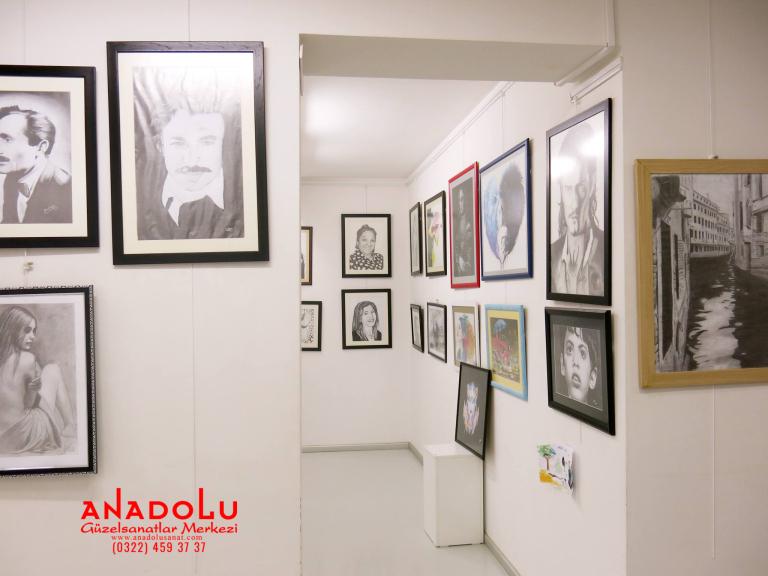 Diyarbakırda Güzel Sanatlara Hazırlık Resim Atölyesi