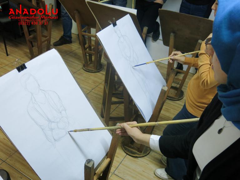Güzel Sanatlar Fakülteleri İçin Yetenek Kursları Çukurovada