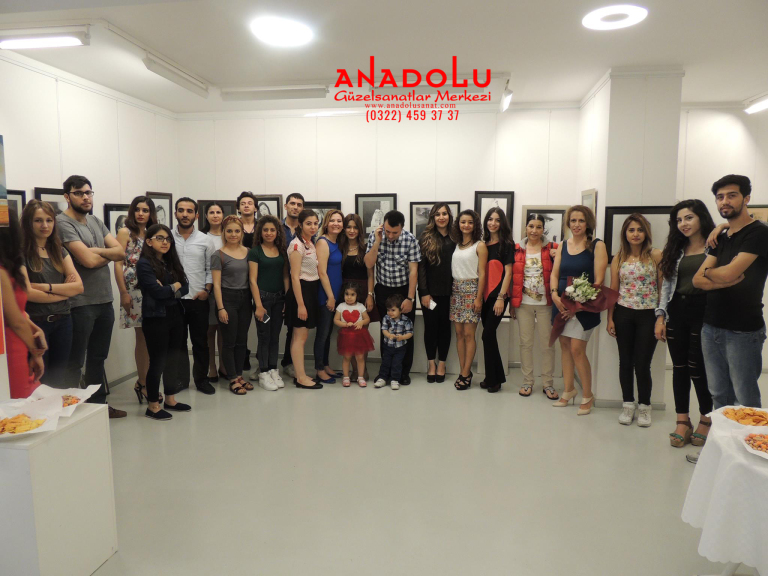 Diyarbakırda Anadolu Güzel Sanatlarda Güzel Sanatları Kazananların Sergileri