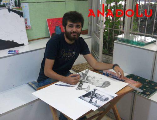 Diyarbakırdaki Sulu Boya Manzara Teknik Çalışmaları