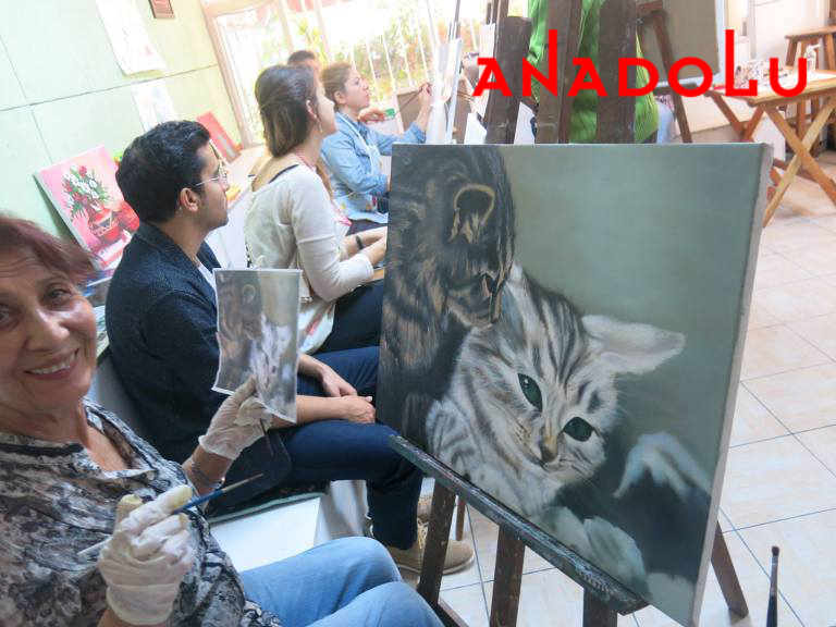 Yağlı boya Hobi Çizim Kursları Çukurovada
