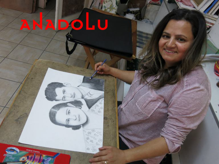 Karakalem Potre Çalışmaları Hobi Grupları Çukurova