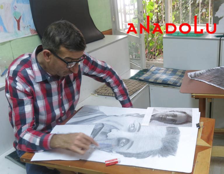 Hobi Karakalem Çizim Dersleri Çukurovada