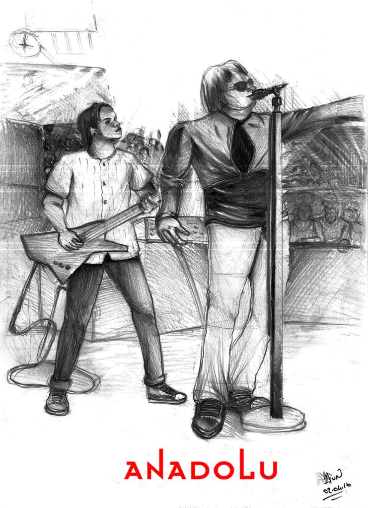 Çukurovada Karakalem Şarkı söyleyenler