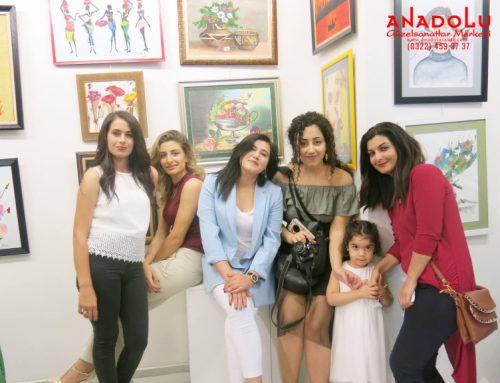 Diyarbakırdaki Hobi Sanat Atölyesinin B.Şehir Belediyesindeki  Resim Sergileri