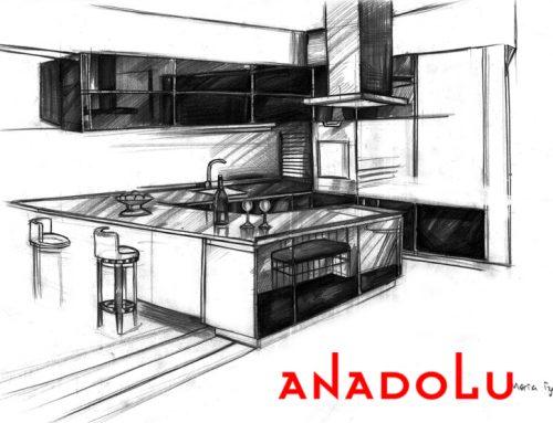 Diyarbakırdaki Apartman Çizim Tekniği
