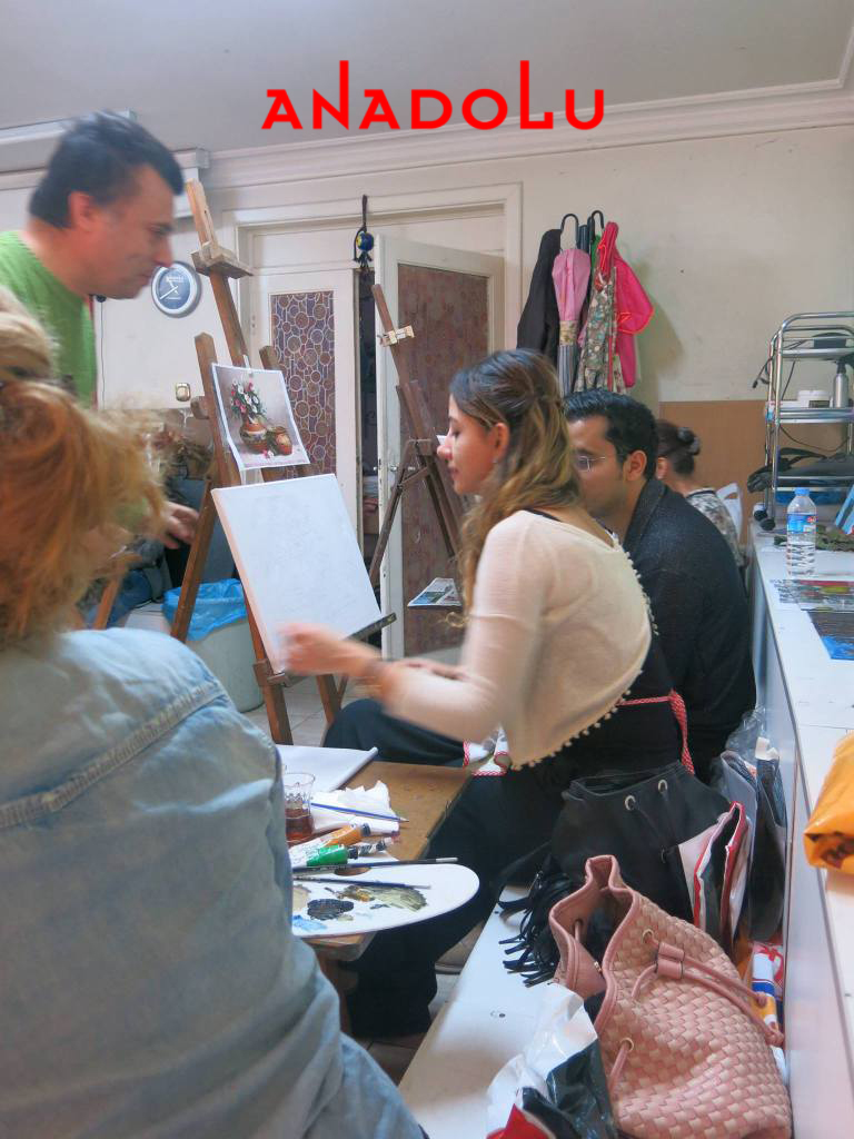 Yağlı Boya Sanat Atölyeleri Çukurovada