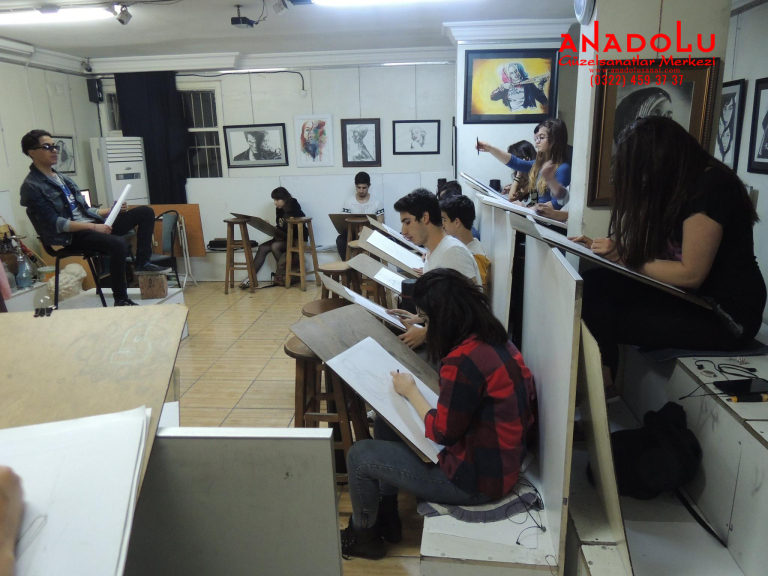 Anadolu Çizim Dersleri Çukurovada