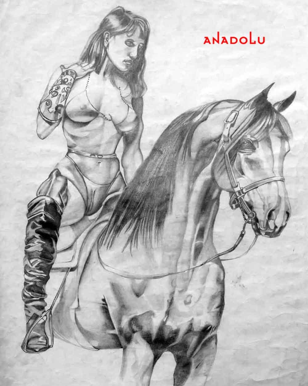 Atlar ve Kadınlar Diyarbakır