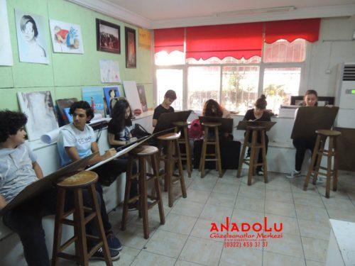 Anadolu Güzel Sanatlar Liselerine Hazırlık Kursları Diyarbakır