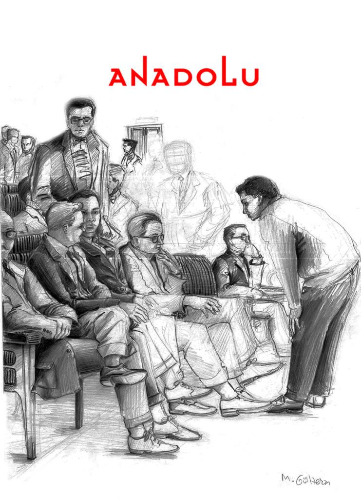 Diyarbakır Karakalem Toplantı Çizimi